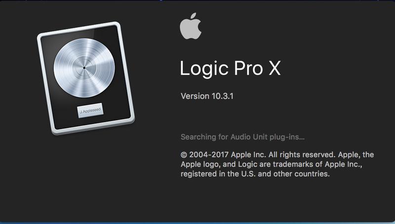 5.安裝 Logic Pro