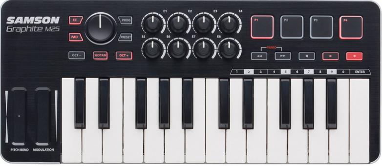 4.設定 MIDI 鍵盤