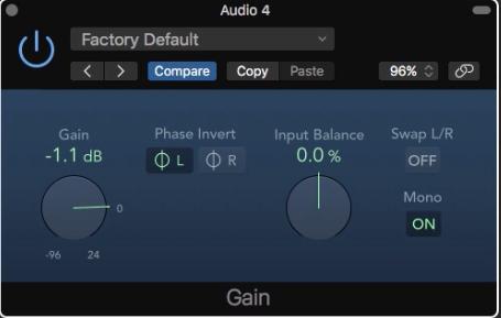 1.使用 Logic Pro 來消除人聲,製作伴唱帶