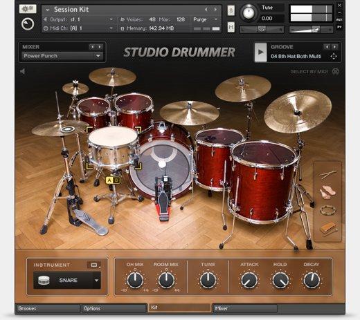13.能讓編曲換然一新的節奏鼓組 - Studio Drummer
