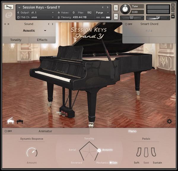 11.超夢幻演奏會等級的鋼琴音色 - Session Keys
