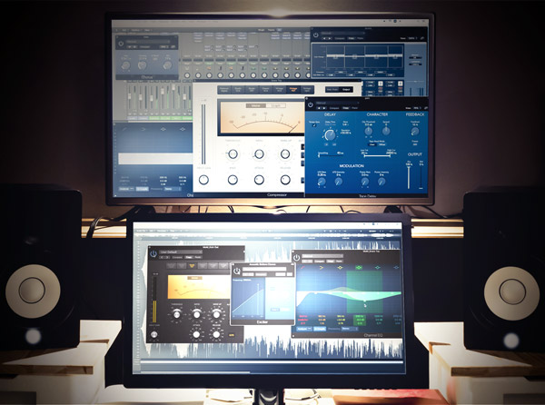 7.Logic Pro 內建基礎人聲效果器實作及聲音的化妝師 + Waves 效果器介紹