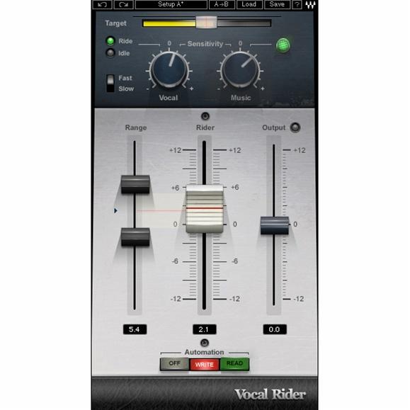 9.自動化人聲音量平衡 - Waves Vocal Rider