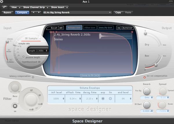 6.Reverb 回音效果器