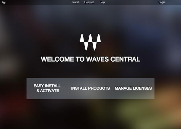 7.設定 Waves