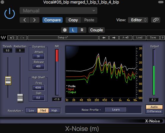 1. X-noise 介面介紹