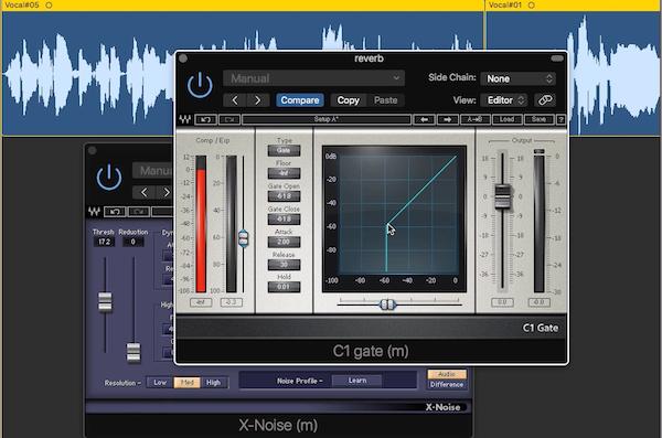 6.人聲混音流程演練4 - 利用音量的增減來重複比對效果器的參數值