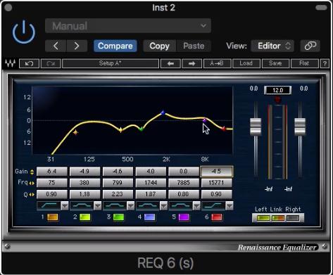 11.強調聲音屬性的鋼琴 EQ 調整