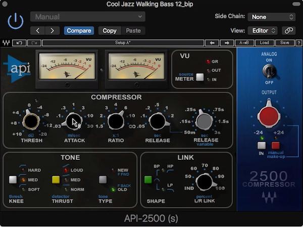 13.讓低音厚實緊實的方法 - 調整 Bass 壓縮器