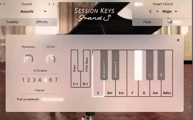3.Session Keys 一鍵和弦功能介紹