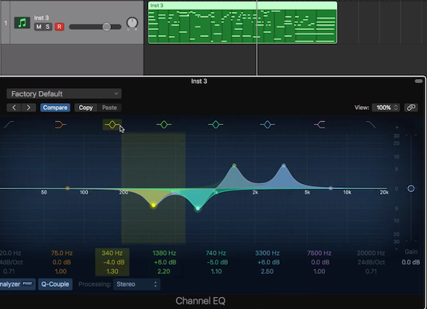 9.實用的流行鋼琴伴奏法 - 調整 MIDI 參數,將鋼琴聲線優美化